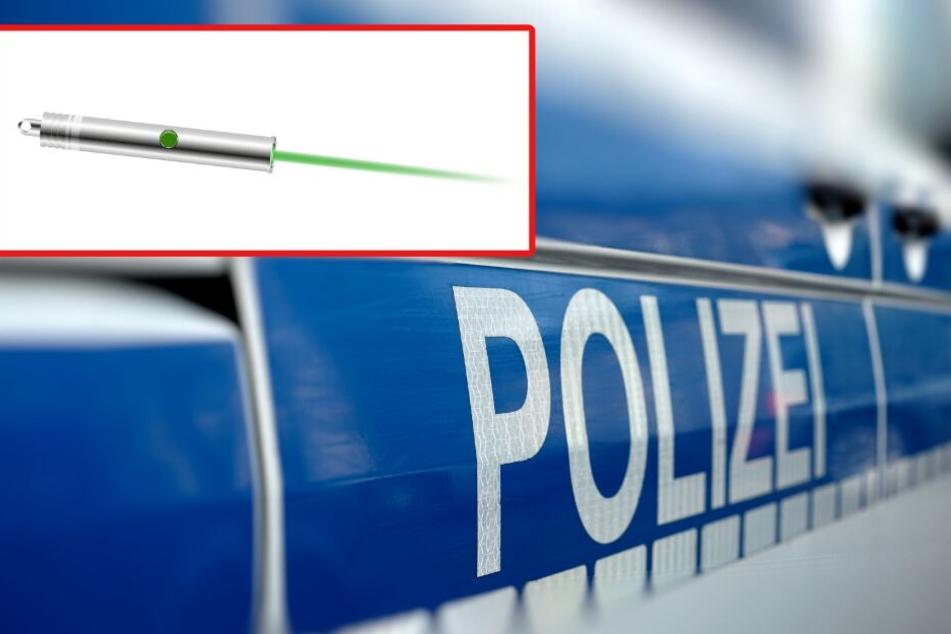 Nach einem Angriff mit einem Laserpointer musste eine Kölner Polizistin am Samstagabend ins Krankenhaus (Symbolbild).