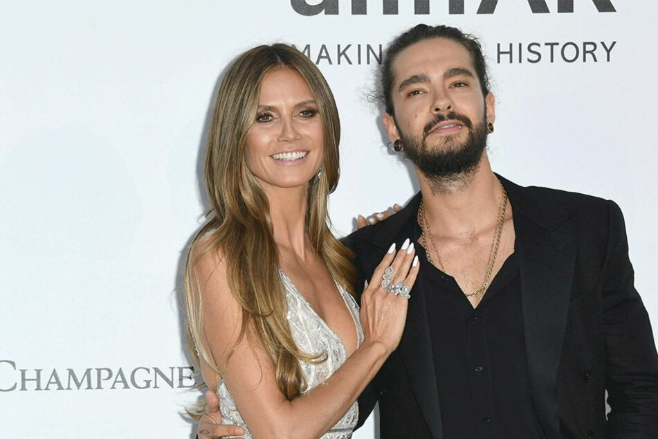 Heidi Klum (45) und Tom Kaulitz (29).