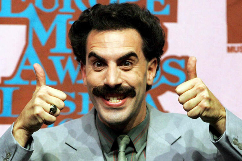Nahm die Wähler von Donald Trump gekonnt auf die Schippe: Sacha Baron Cohen als Borat.