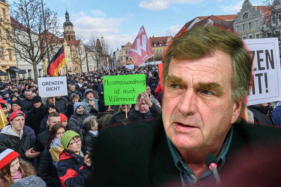 """Linke-Politiker warnt vor Cottbus als zweiter """"PEGIDA""""Stadt!"""