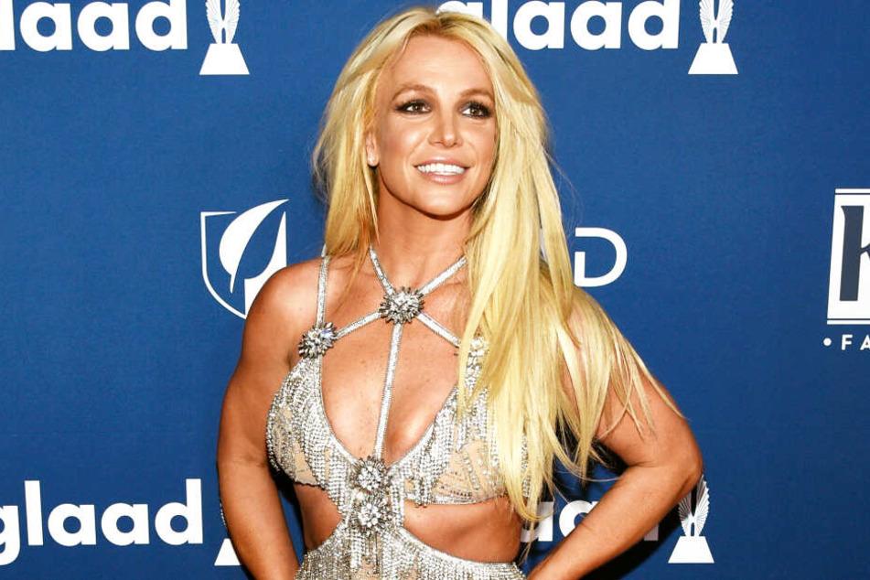 Britney Spears im April des vergangenen Jahres.
