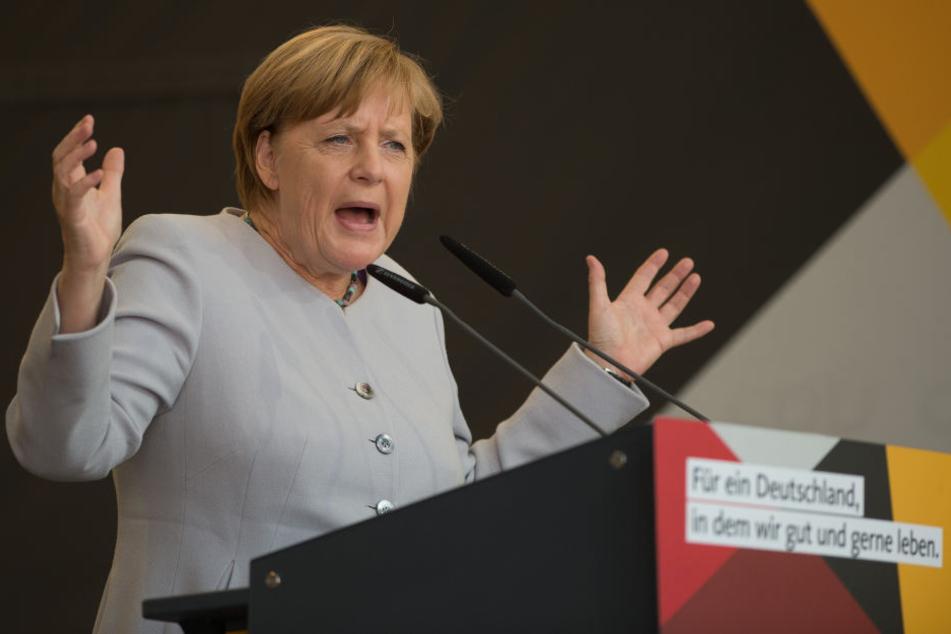 Angela Merkel ist gegen die Cannabis-Legalisierung im Falle eines Wahlsieges.