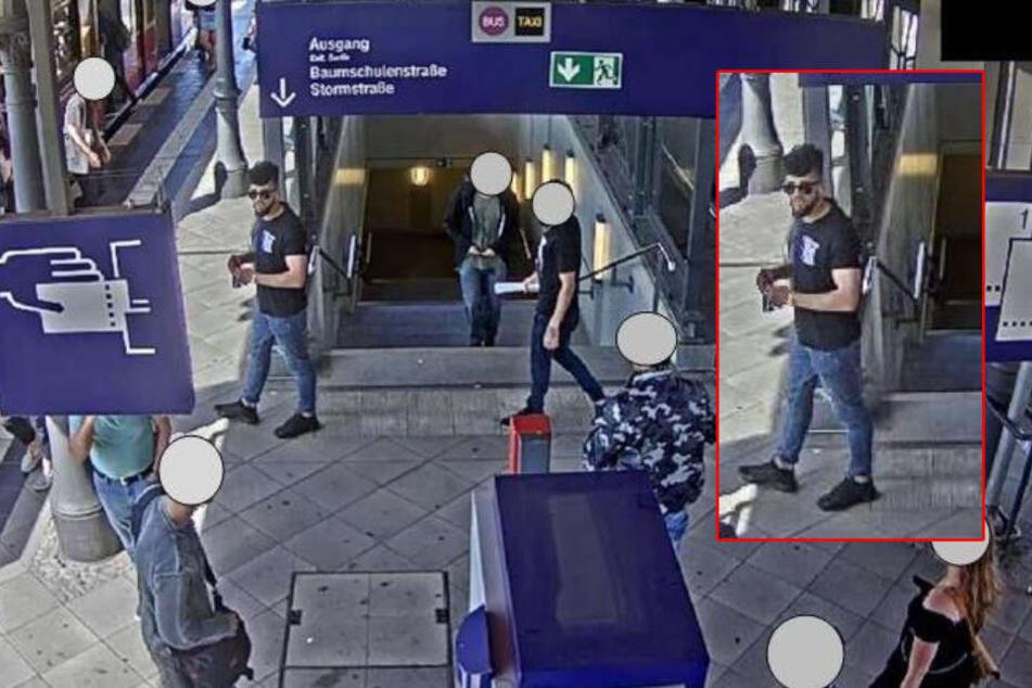Kontrolleur mit Teppichmesser bedroht: Wer kennt diesen Mann?