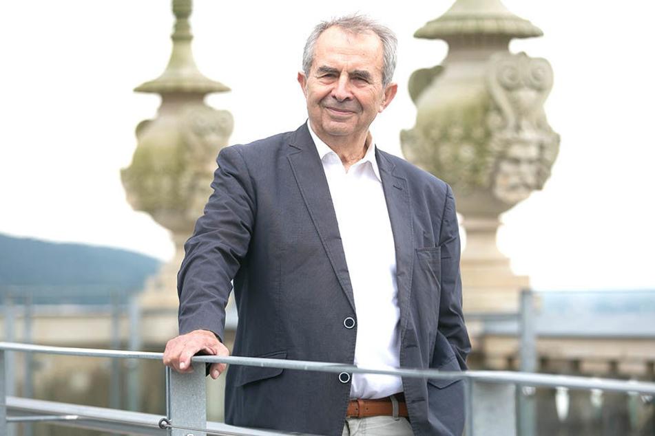 """Fördervereins-Chef Peter Lenk (79): """"Ich gehe davon aus, dass es mit dem jetzigen Pächter keine Einigung gibt.""""Foto: Steffen"""