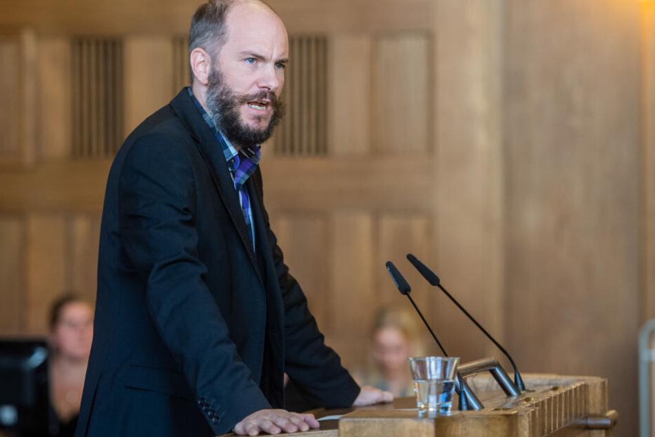 Pro-Chemnitz-Stadtrat Martin Kohlmann (42) lag im Klinikum.