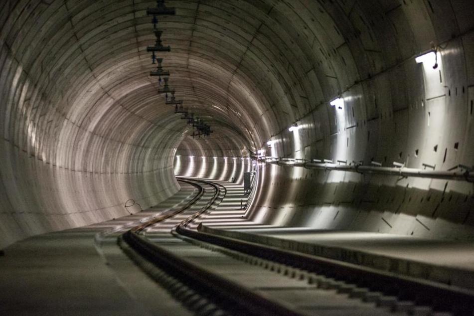 Der Citytunnel in Leipzig: Geht es nach OB Burkhard Jung, kommt bald ein zweiter dazu.
