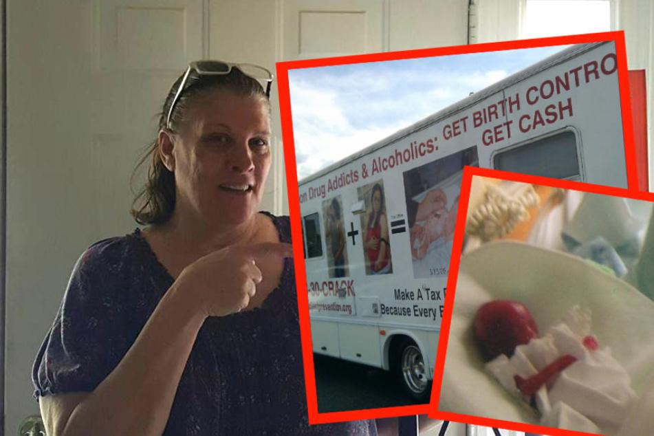 Diese Frau zahlt Drogenabhängigen 300 Dollar für Sterilisation   TAG24