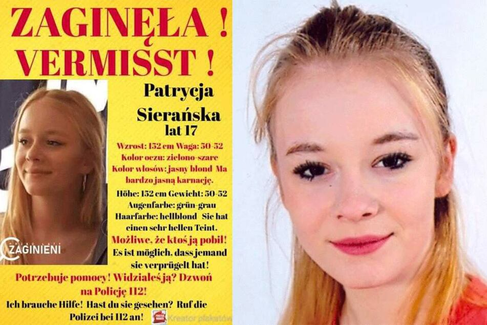 Letzter Anruf kam aus Deutschland! Wer hat Polin Patrycja (17) gesehen?