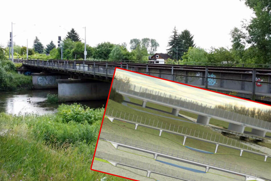 Drei neue Brücken über Leipzigs Flüssen