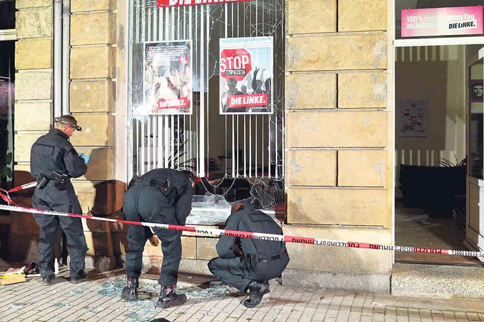 Der Anschlag auf das Büro des Linken-Stadtrats war nur eine der vielen  Sprengungen, die der Gruppe zur Last gelegt werden. Weitere Detonationen  folgten.