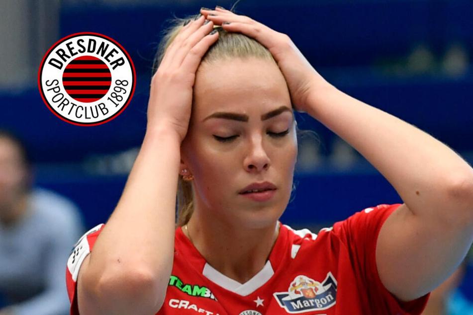 Dresdner SC verliert Ost-Klassiker, doch der Trainer lobt