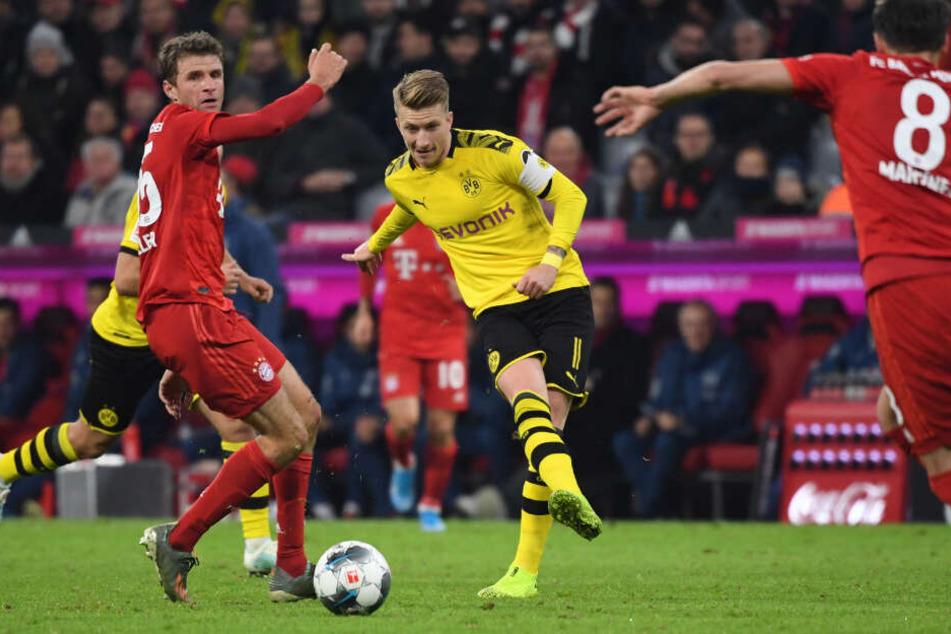 Wurde gegen den Rekordmeister in der 61. Minute eingewechselt. Jedoch konnte auch Marco Reus die 0:4-Klatsche bei den Bayern nicht verhindern.