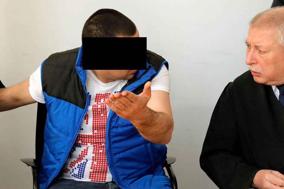 Giorgi B. (30, l.) aus Georgien muss wegen Wohnungseinbruchsdiebstahls dreieinhalb Jahre in den Knast.