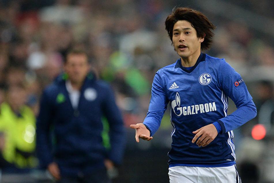Im Dezember 2016 absolvierter der Japaner sein letztes und einzige Spiel in der Saison 2016/17 für Schalke 04.