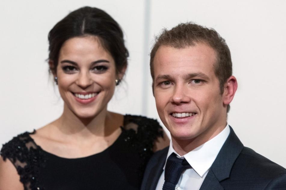 Er kann sich auch fein machen: Der nur 1,63 Meter große Turner Fabian  Hambüchen (29) mit seiner Freundin Marcia Ev.