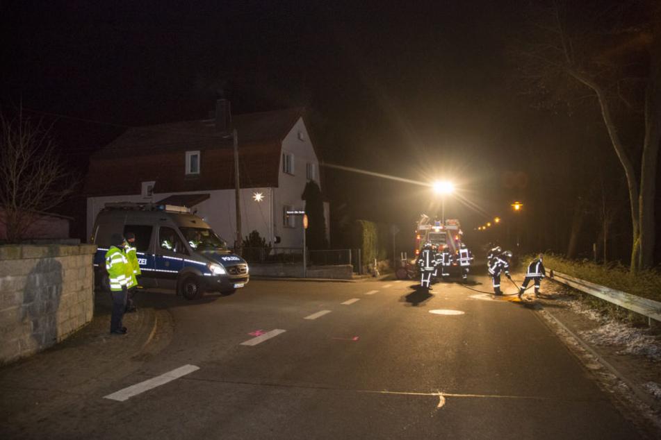 In Höhe der Heinrich-Zille-Straße in Bischofswerda erfasste ein Ford einen 80-Jährigen.