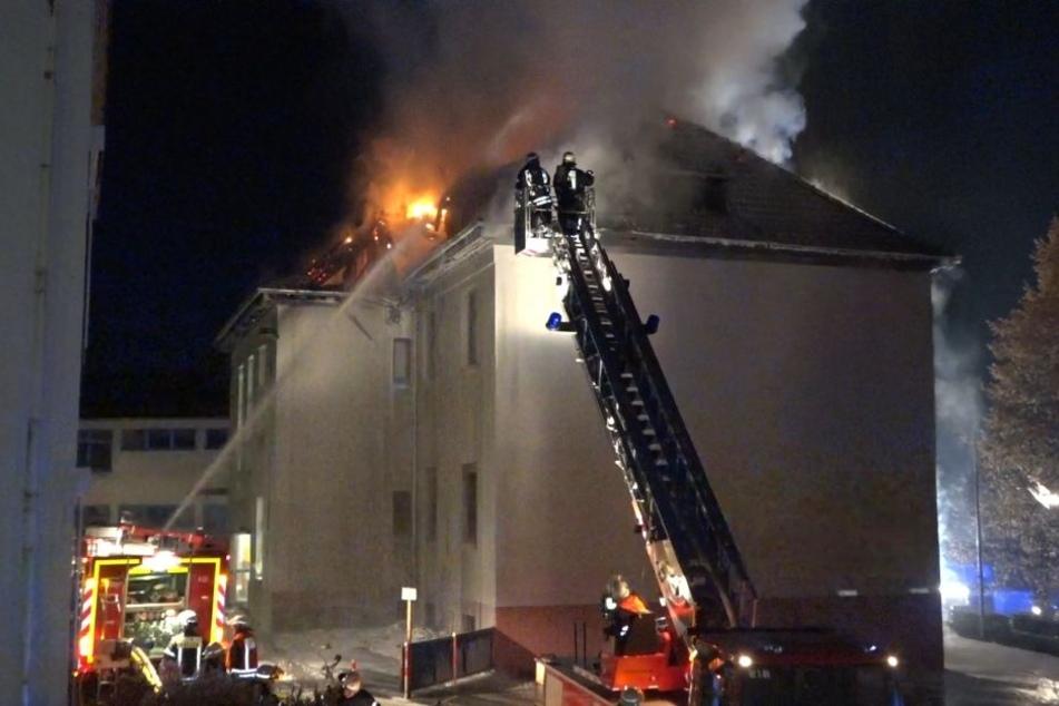 Der Brand löste einen Großeinsatz der Feuerwehr aus.
