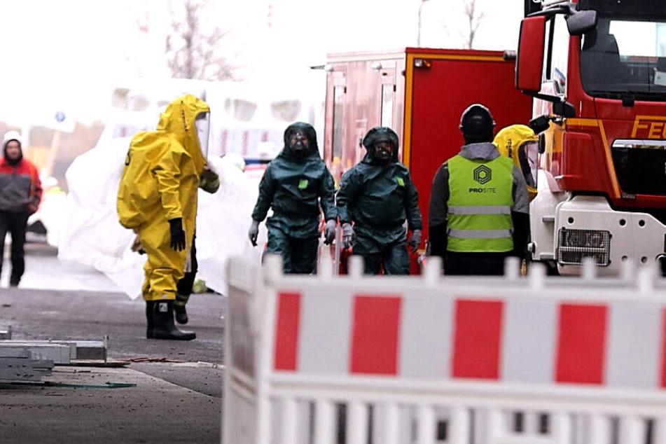 Dresden: Feuerwehr-Einsatz auf Bosch-Baustelle: Was ist da in Dresden los?