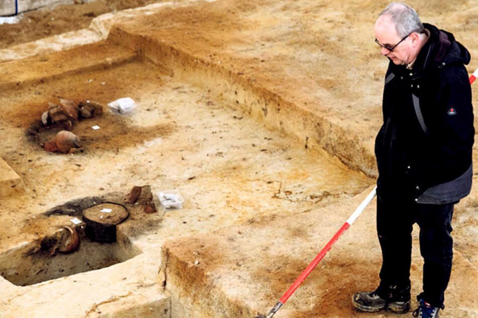 Hammer! Das kam bei Ausgrabungen in Sachsen zum Vorschein