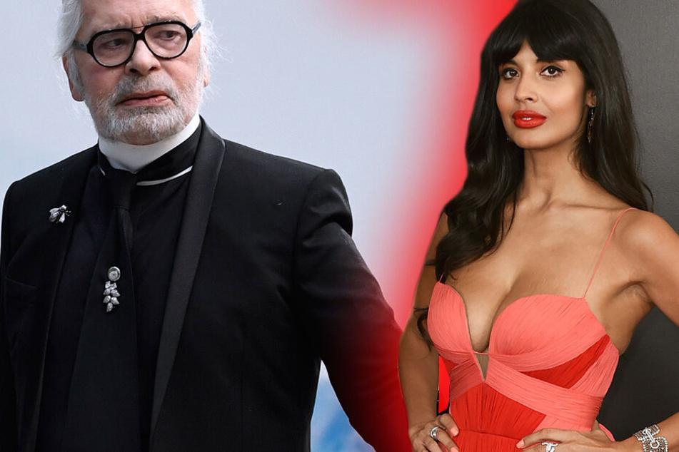 """""""Skrupelloser Frauenfeind!"""" Schauspielerin ätzt kurz nach seinem Tod gegen Lagerfeld"""
