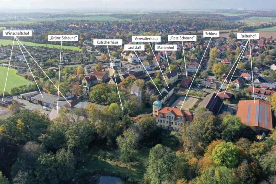 Reiterhof, Ställe, Wirtschaftshof: Auf der Anlage ist alles dabei.
