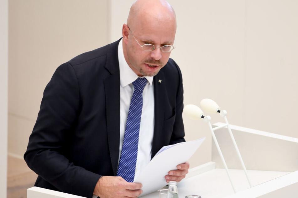 Andreas Kalbitz ist Landesvorsitzender der AfD in Brandenburg.