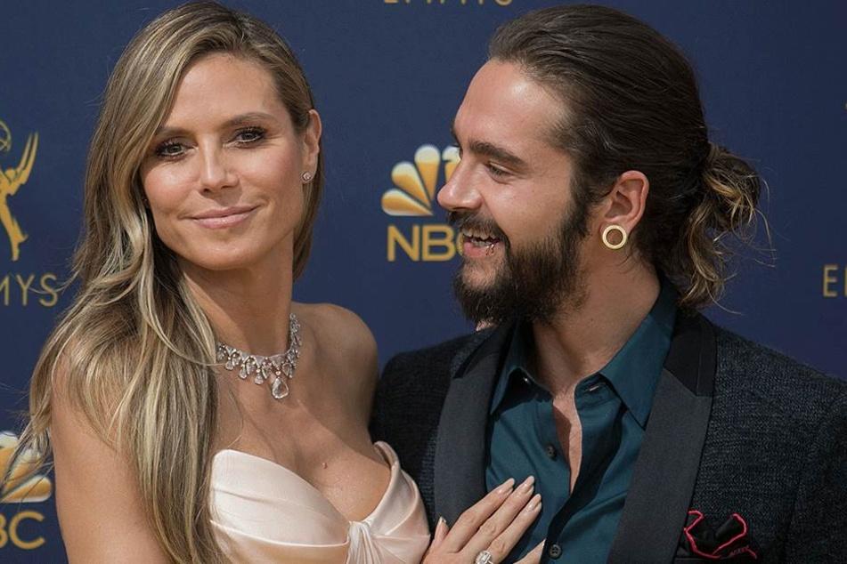 Heidi Klum (45) und ihr Verlobter Tom Kaulitz (29).