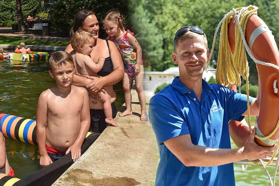 Stefan Richter aus Langebrück: Der Bademeister mit dem Retter-Instinkt
