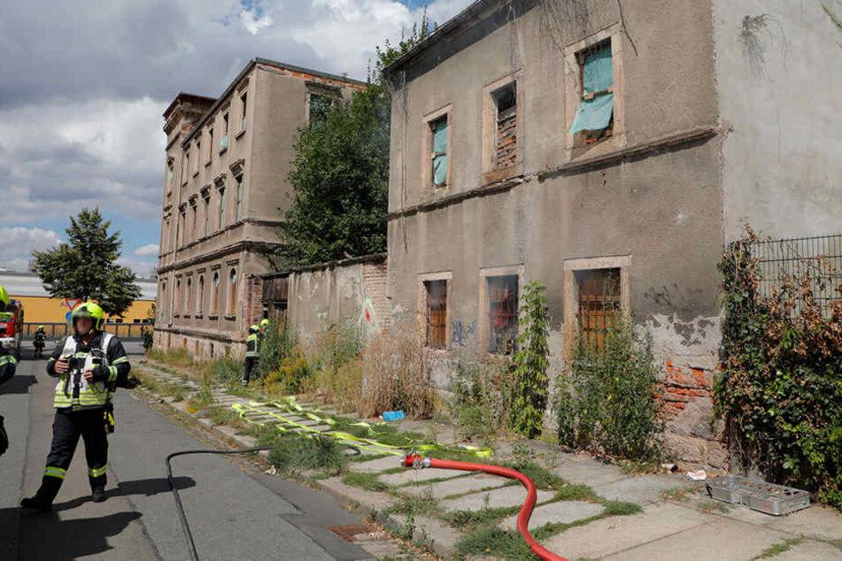 In dem leerstehenden Gebäude auf dem Sonnenberg hat es in diesem Jahr schon mehrfach gebrannt.