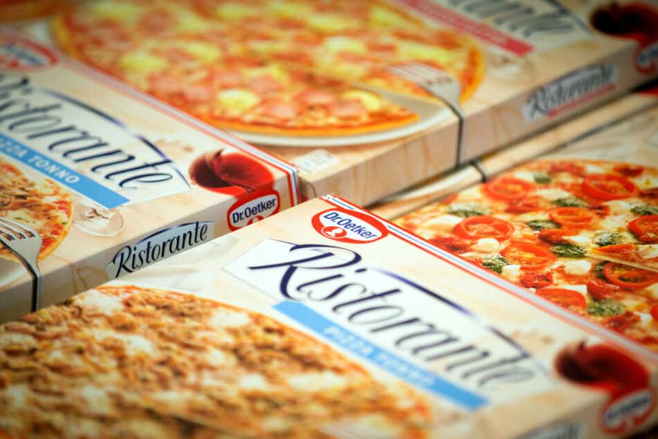 Statt Oetker-Pizza kommt bei manchen jetzt die Konkurrenz auf den Teller.