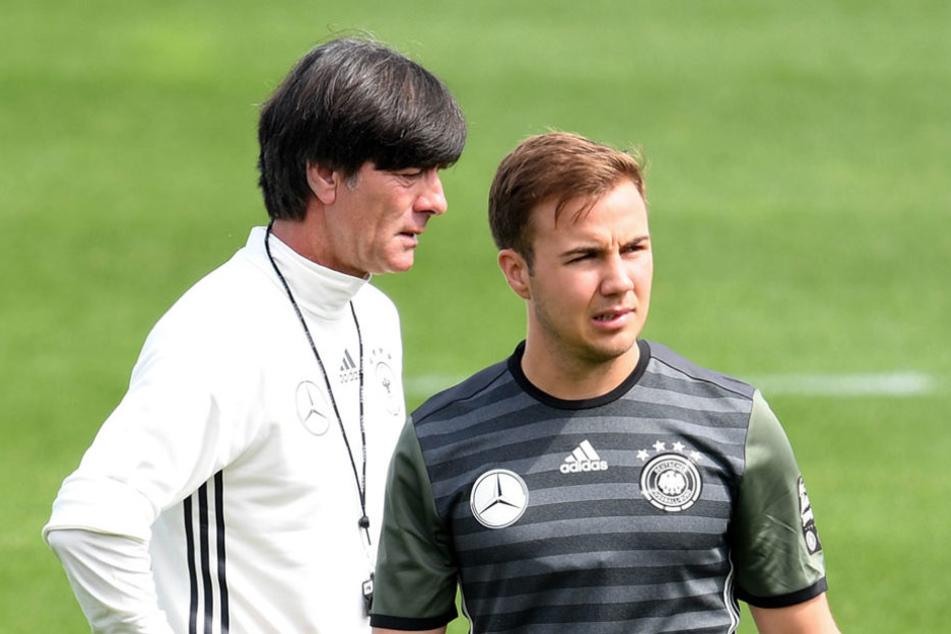 Vor allem für sein Festhalten an Mario Götze, der in einem Formtief steckt, wurde Löw von Lehmann kritisiert.