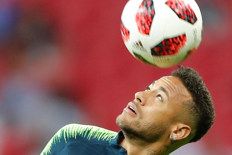 Um Wechsel zu erzwingen: Neymar trainiert in China lieber allein