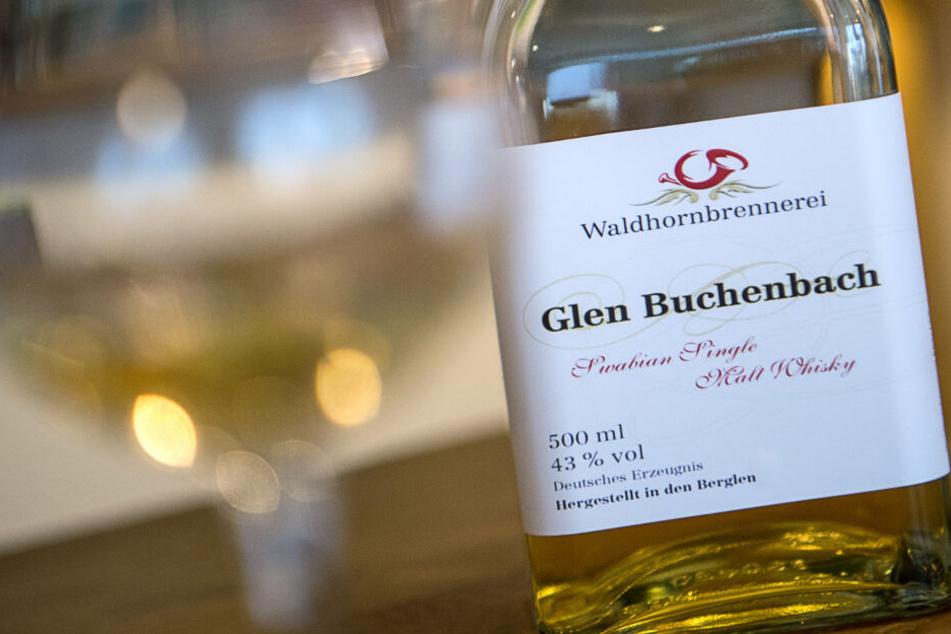 """Darf auf dem Ettiket des Whisky """"Glen"""" stehen oder nicht? Darum geht es in dem Streit."""