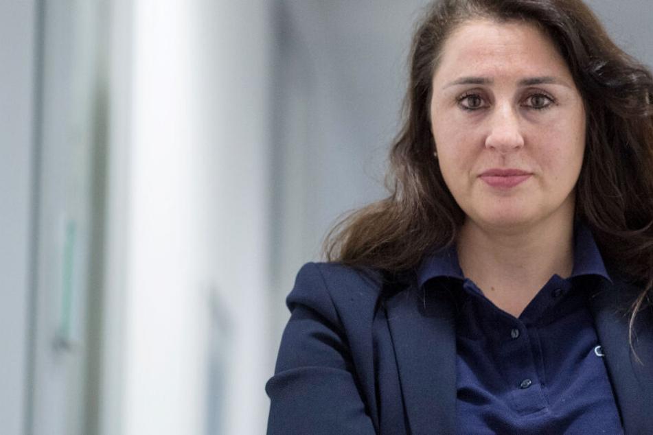 Das Foto aus dem Juli 2018 zeigt die Frankfurter Anwältin Seda Basay-Yildiz.