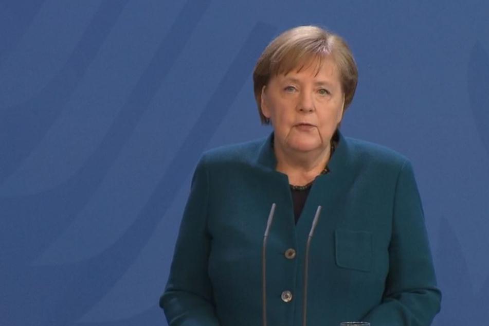 Bundeskanzlerin Merkel hatte am Sonntagnachmittag neue, bundesweite Schritte bekannt gegeben.