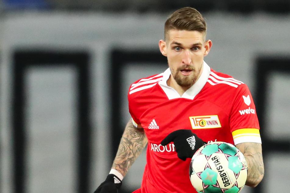 Unions Robert Andrich flog im Hinspiel mit Rot vom Platz. Der 26-Jährige spielte selbst jahrelang für Hertha BSC.