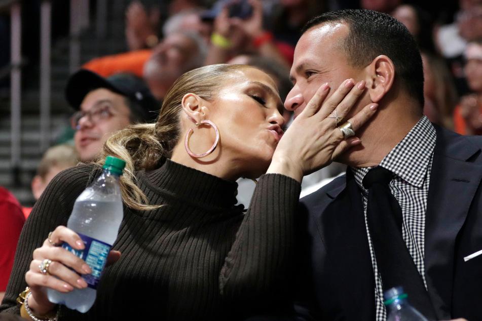 Jennifer Lopez (51) und Alex Rodriguez (45) geben ihre Beziehung nicht so schnell auf. (Archivbild)
