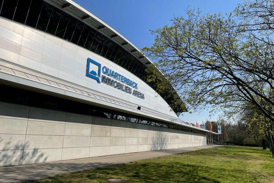 Im Foyer der Arena können die Leipziger sich ab Montag testen lassen.