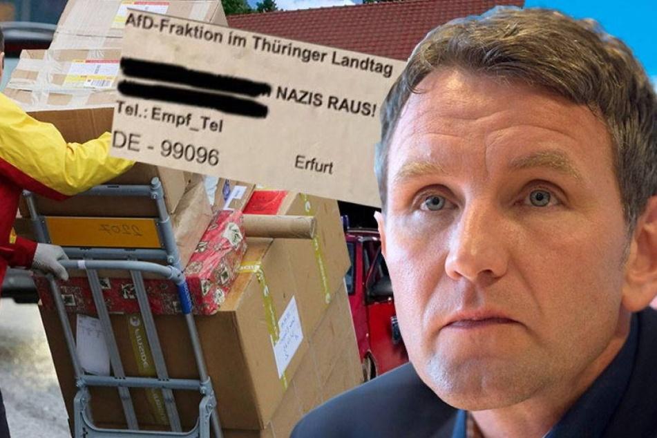 "Dresdner Versandhändler schickt ""Nazis-raus!""-Paket an AfD"