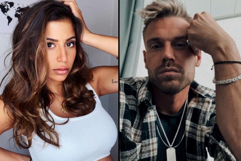 Eva Benetatou (29) und Chris Broy (31) sind nach ihrer Trennung Eltern geworden.(Fotomontage)