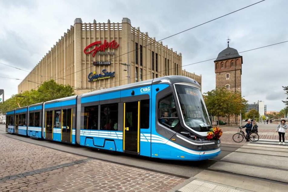 Die Skoda-Bahnen sind seit September im Linienverkehr unterwegs.