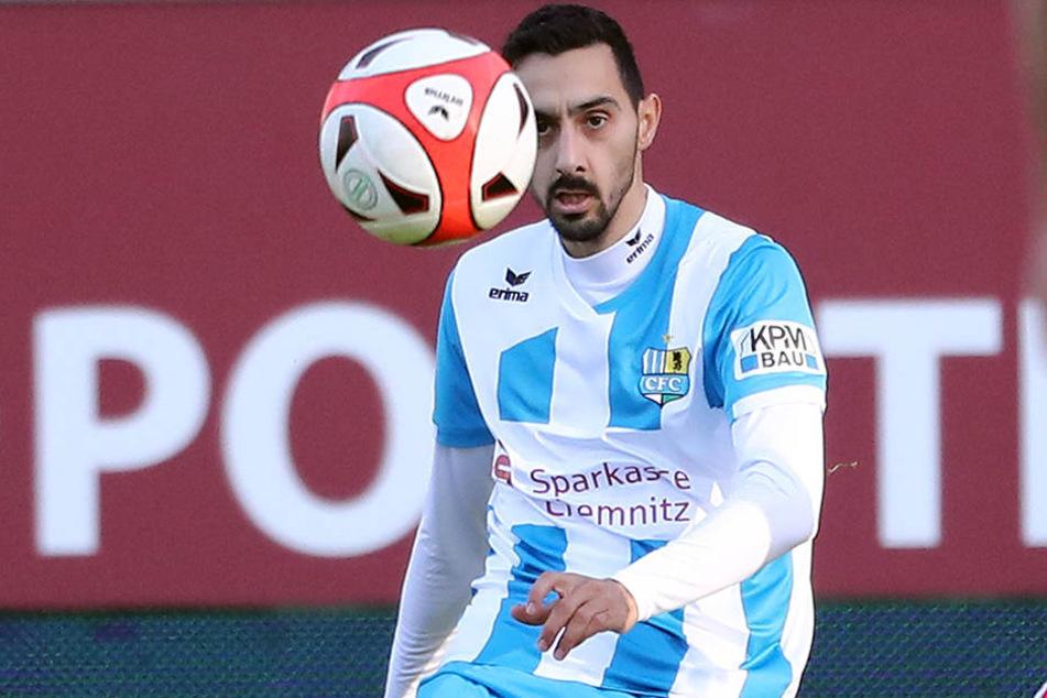 Rafael Garcia ist der Top-Vorbereiter der Himmelblauen. Beim 4:2 in Fürstenwalde traf er auch mal wieder selbst.
