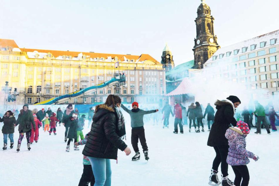 """Vorfreude, schönste Freude - das gilt auch für den """"Winterzauber"""" auf dem Altmarkt."""