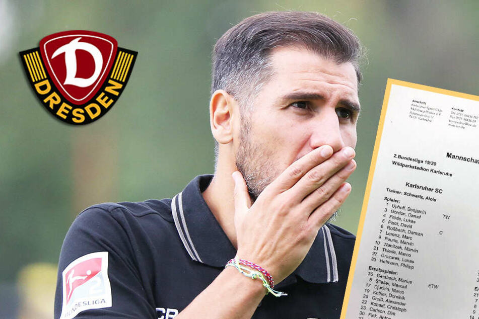 Angriffspunkt Aufstellung! Hat sich Dynamo-Coach Fiel verpokert?