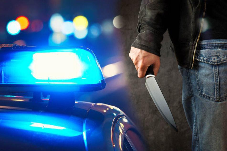 Ein Unbekannter hat einen Jugendlichen mit dem Messer schwer verletzt. (Symbolbild)