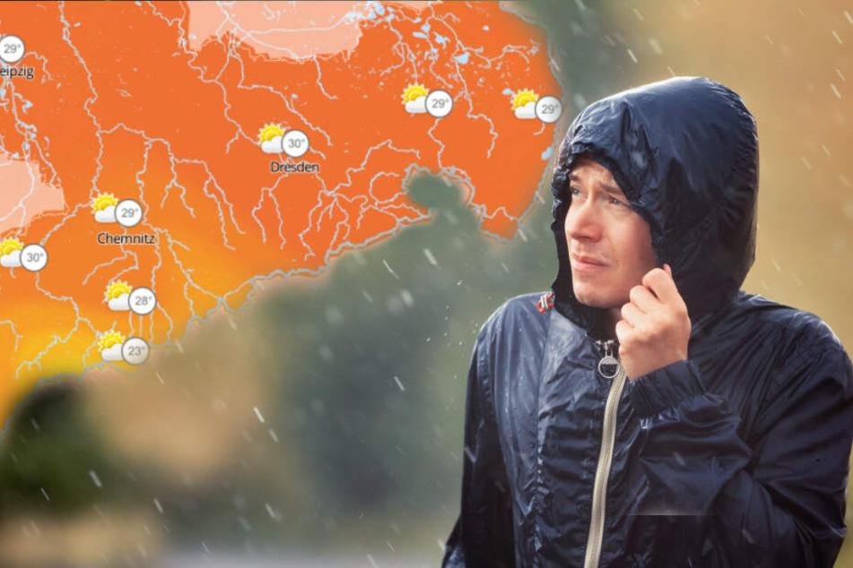 Sommer kommt mit voller Wucht zurück: Hitze und Gewitter in Sachsen erwartet