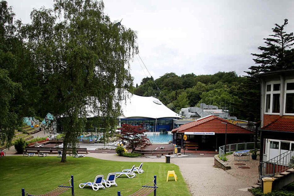In diesem Schwimmbad in Velbert war das Opfer schwimmen gegangen.