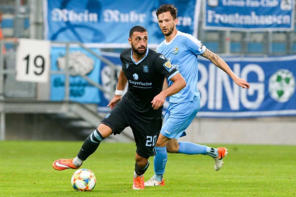 Vierte Saisonniederlage für den CFC: Am Freitagabend verloren die Himmelblauen gegen TSV 1860 München.