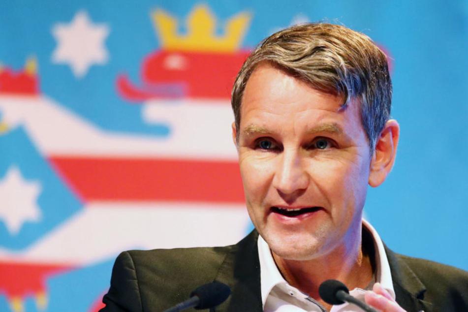 Björn Höcke ist der Vorsitzende der AfD in Thüringen.