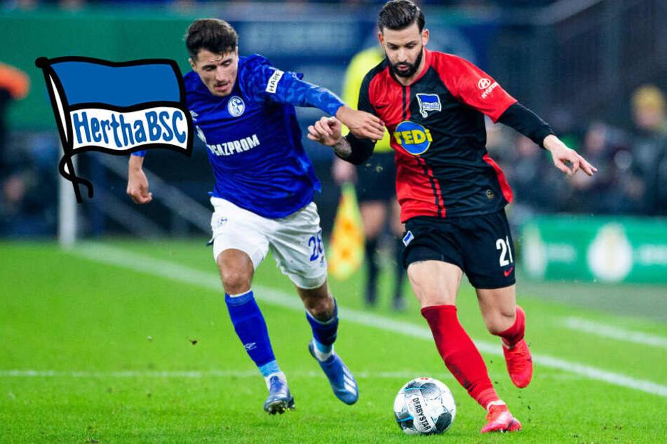 Irres Pokal-Spiel: Hertha verschenkt 2:0-Führung und fliegt raus